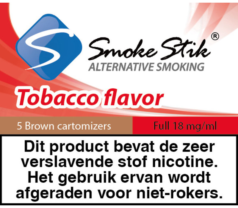 Cartomizer Regular Tabak Bruin 18mg (5)