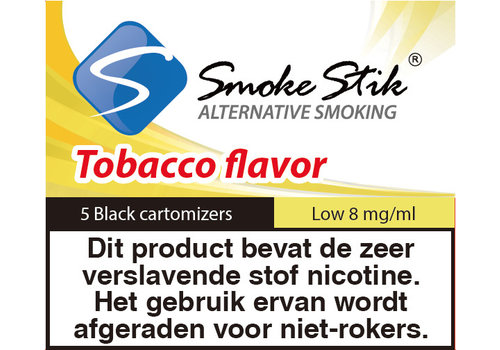 SmokeStik Cartomizer Regular Tabak Zwart 8mg (5)