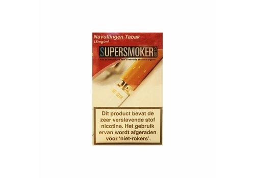 SuperSmokerClub Cartomizers (5) Tobacco 18mg