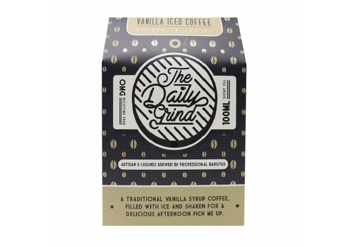 The Daily Grind Vanilla Iced Coffee (100ml)