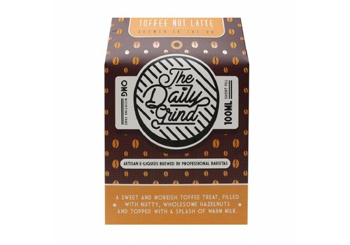 The Daily Grind Toffee Nut Latte (100ml)
