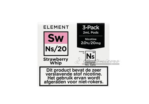 Element Strawberry Whip Ns/20 Pod