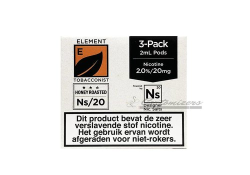 Element Honey Roasted Tobacco Ns/20 Pod