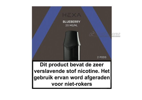 Hexa Pods Blueberry