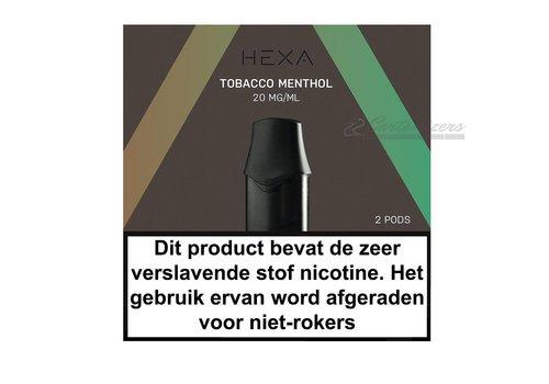 Hexa Pods Tobacco Menthol