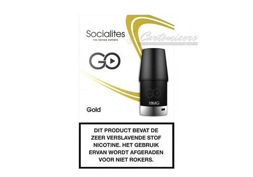Socialites Go Gold