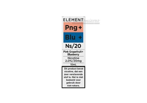 Element Pink Grapefruit Blueberry Ns/20