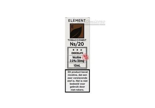Element Tobacconist Chocolate Ns/20