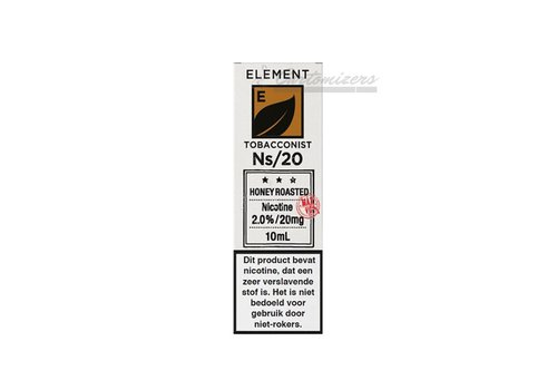 Element Tobacconist Honey Roasted Ns/20