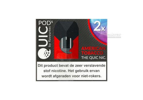 Flavourtec Quic American Tobacco Pods