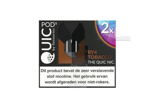 Flavourtec Quic RY4 Tobacco Pods