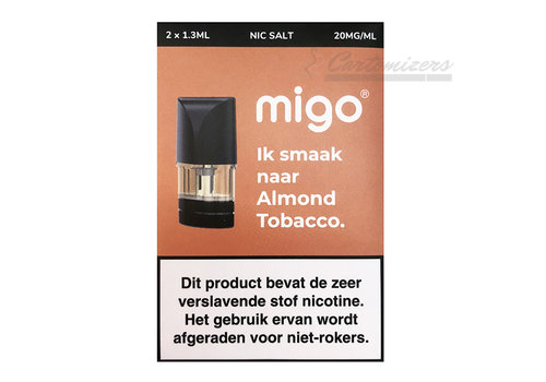 Migo Almond Tobacco Pods