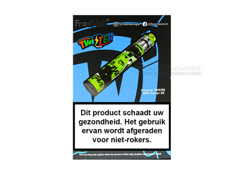 Freemax Twister Graffiti Green