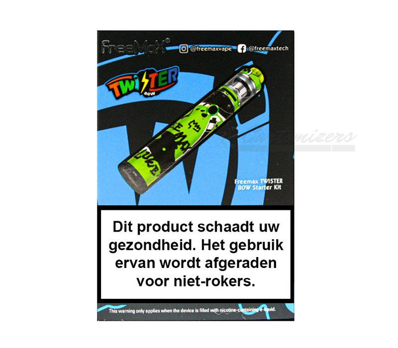 Twister Graffiti Green