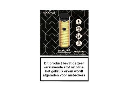 Smok Nord Starterset Carbon Gold