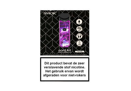 Smok Nord Starterset Purple White Resin