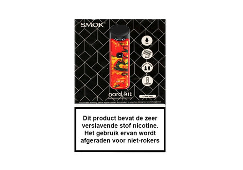 Smok Nord Starterset Red Yellow Resin