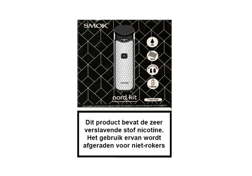 Smok Nord Starterset Carbon Silver