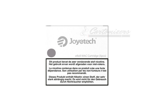 Joyetech eRoll Mac Silver Cartridges