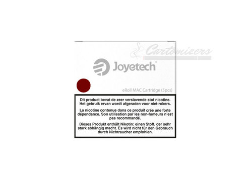 Joyetech eRoll Mac Red Cartridges