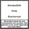 SmokeStik Pink Starterset
