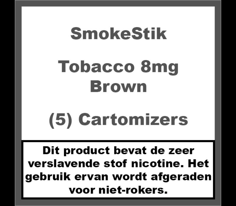 Cartomizer Regular Tabak Bruin 8mg (5)