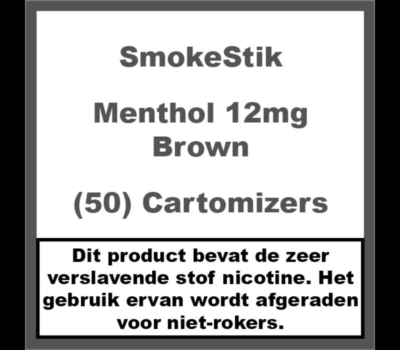 Cartomizer Menthol Bruin 12mg (50)