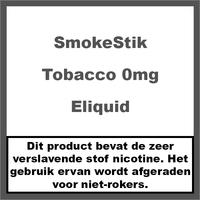 Tobacco 0mg (Nicotine Vrij)