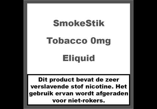 SmokeStik Tobacco 0mg (Nicotine Vrij)