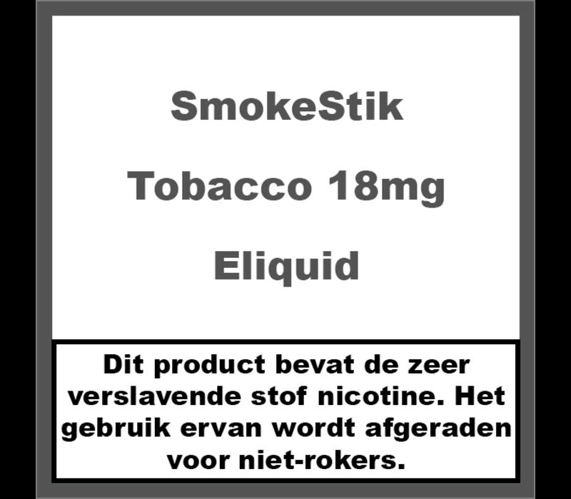 Tobacco 18mg