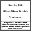 SmokeStik Starterset Ultra Silver