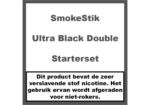 SmokeStik Starterset Ultra Black