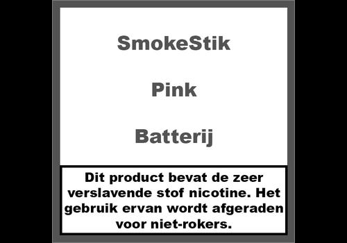 SmokeStik Batterij Pink