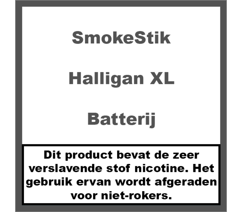Batterij Halligan XL
