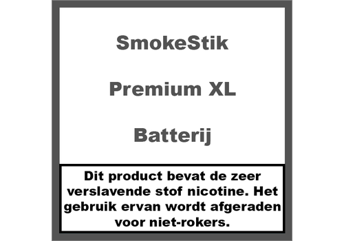 SmokeStik Batterij Premium XL