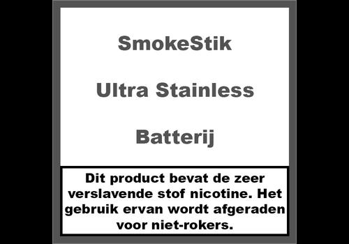 SmokeStik Ultra Batterij Stainless