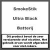 SmokeStik Ultra Batterij Black