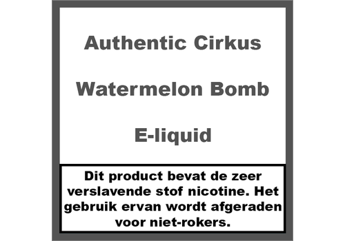 Authentic Cirkus Watermelon Bomb