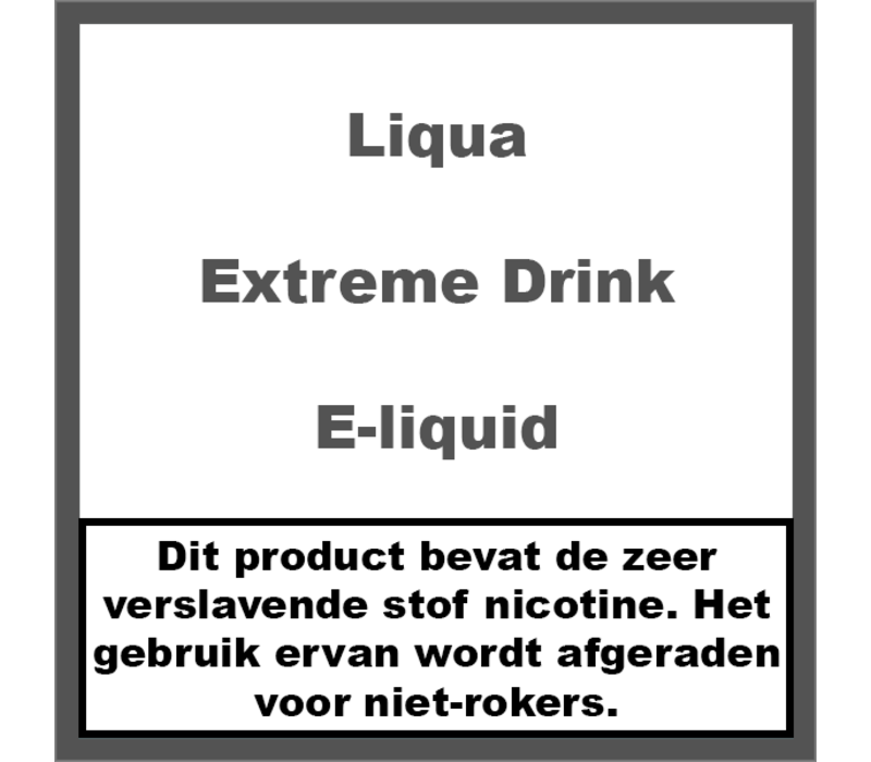 Extreme Drink