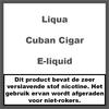 LiQua Cuban Cigar