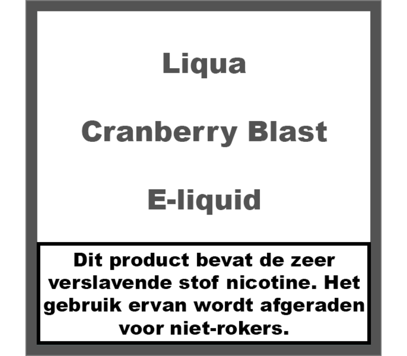 Cranberry Blast