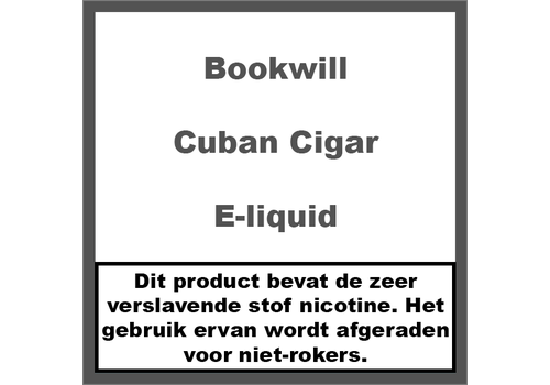 Bookwill Cuban Cigar