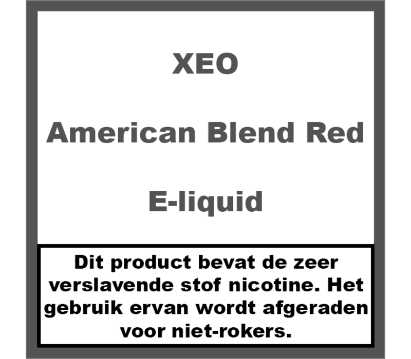 American Blend Red