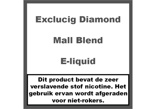 ExcluCig Diamond Label Mall Blend