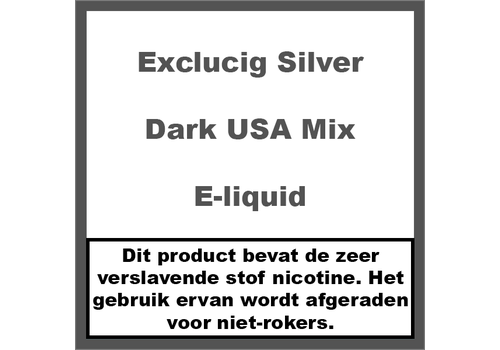 ExcluCig Silver Label Dark USA Mix