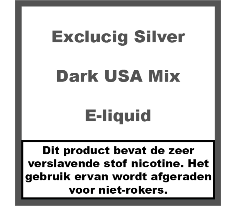 Silver Label Dark USA Mix