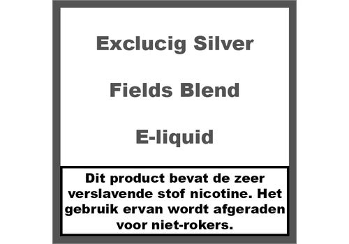 ExcluCig Silver Label Fields Blend