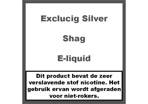 ExcluCig Silver Label Shag