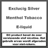 ExcluCig Silver Label Menthol Tobacco