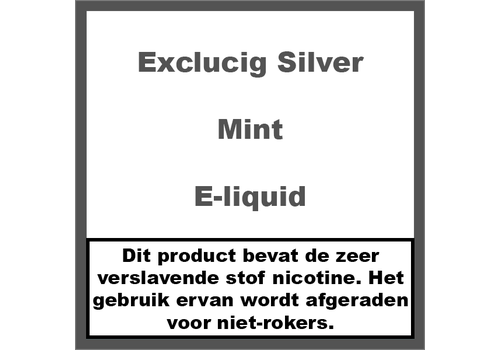 ExcluCig Silver Label Mint
